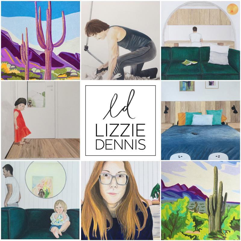 Lizzie Dennis - Work Collage