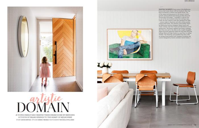 Lizzie Dennis Home Beautiful Magazine