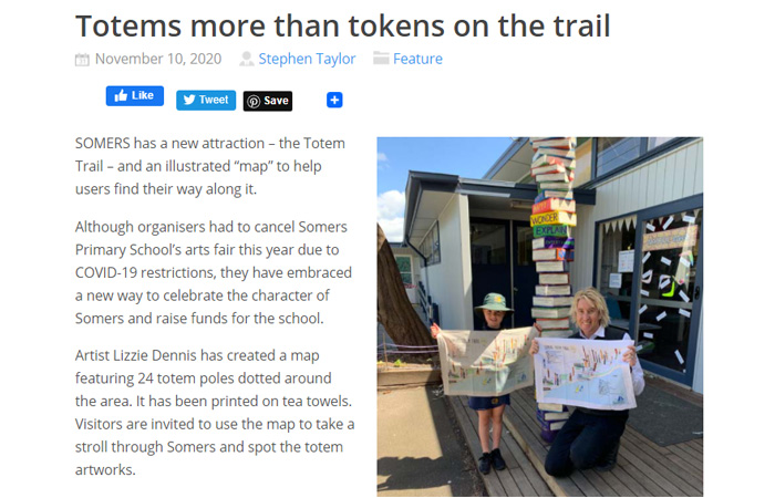 Mornington Peninsula News - Totems more than Tokens